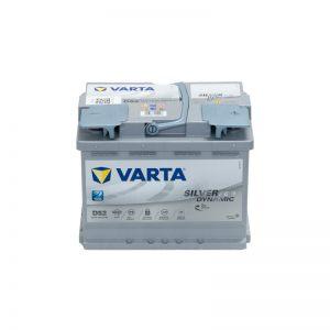 cod.D52 12V-60Ah-680A dim.242x175x190